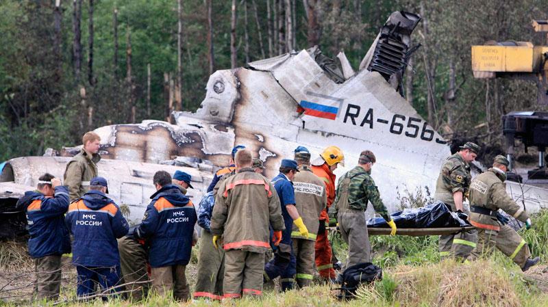 เครื่องบินโดยสารรัสเซียตก ดับ 44 รอด 8