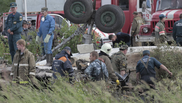 สำนักข่าวเอเอฟพี รายงานเมื่อวันที่ 21 มิถุนายน 54 ว่า  เกิดเหตุเครื่องบินรัสเซียตกลงสู่ทางด่วนสายหนึ่งใกล้สนามบินเปโตรซาวอดสค์  ของรัสเซีย ...